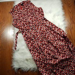 J crew 100% silk dress